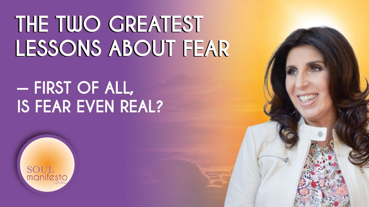 Fear Has Two Great Lessons For You